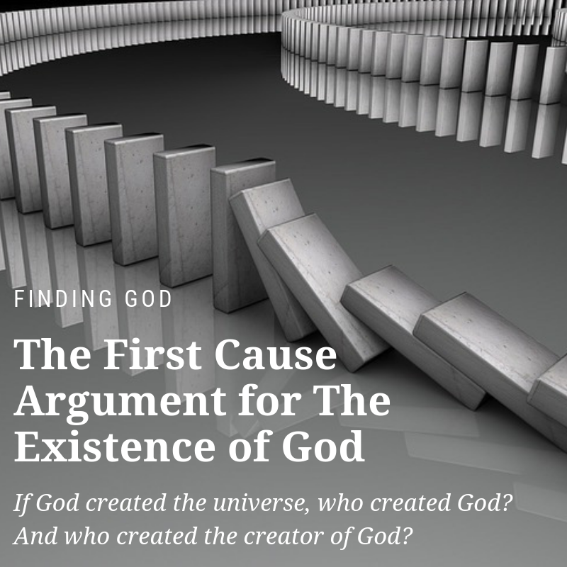 first cause argument for the existence of god