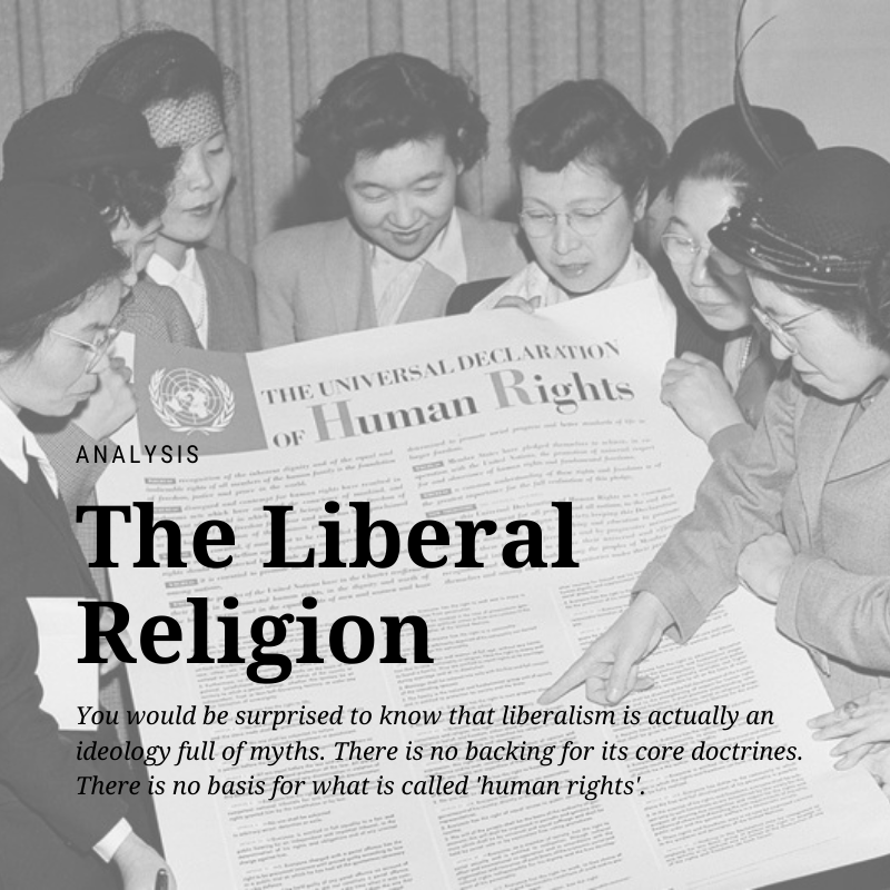 universal declaration of human rights -  the liberal religion