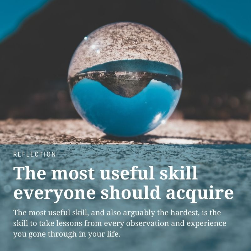 the most useful skill everyone should acquire